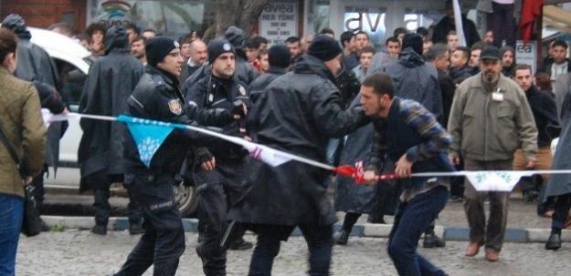 MHP'liler ile HDP'liler birbirine girdi!