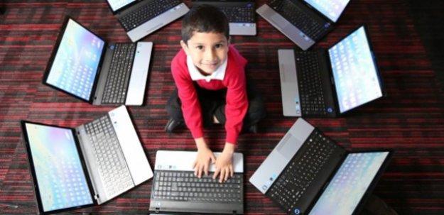 Microsoft'u şaşırtan 5 yaşındaki çocuk!