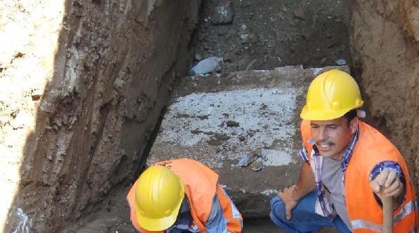 Milas'ta Bu Kez 1600 Yıllık Mezar Bulundu