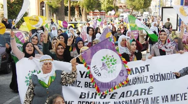 Milas'ta Kadınlar Gününde Gerginlik