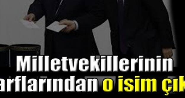 Milletvekilleri de Davutoğlu dedi