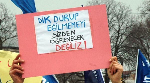 Milli Eğitim Bakanlığı Yasa Tasarısı Protesto Edildi