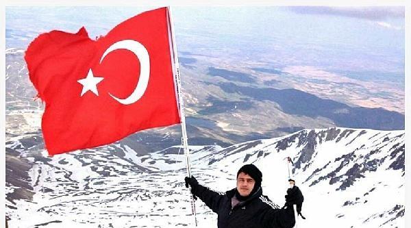 Milli Güreşçi Kayaalp Erciyes Dağı'na Tırmandı