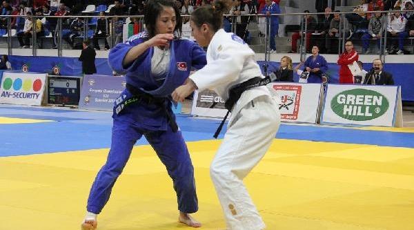 Milli Judocu Ebru Şahin, Avrupa Şampiyonu Oldu