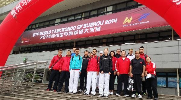 Milli Tekvandocular Uzakdoğu'da Madalya Kovalayacak