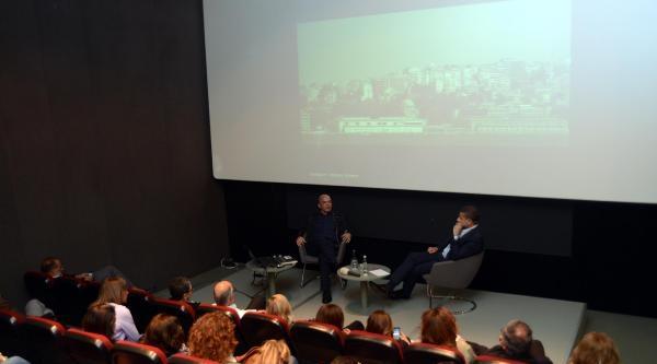 Mimar Murat Tabanlıoğlu, Venedik Bienali Üzerine Söyleşiye Katıldı
