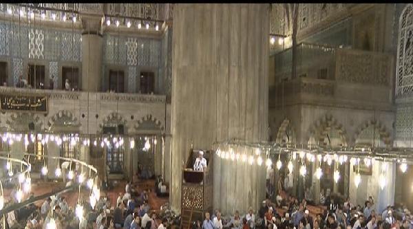 Miraç Kandili Camilerde Dualarla Kutlandı