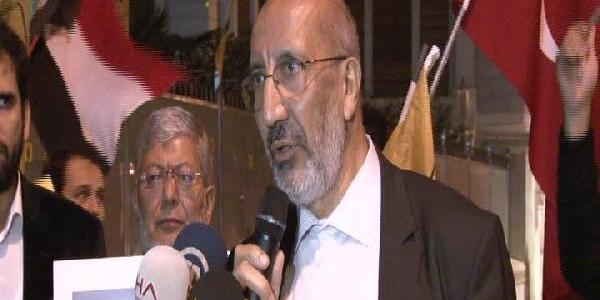 Misir Konsolosluğu Önünde Mursi'Ye Destek Eylemi