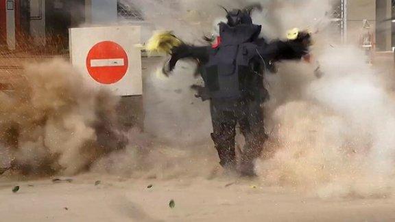 Mısır'da bomba uzmanının feci ölümü