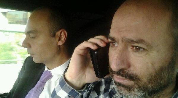Misir'da Serbest Birakilan Metin Turan'dan Ilk Fotoğraf