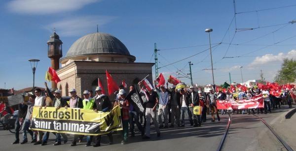Mısır'daki İdam Kararları Konya'da Protesto Edildi