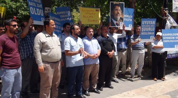 Mısır'daki İdamlar Adıyaman'da Protesto Edildi