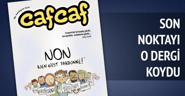 Mizah dergisi Cafcaf'tan Charli Hebdo'ya kapaklı cevap