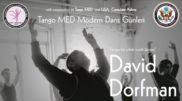 Modern Dansın Efsane İsmi Abd'li Dorfman Diyarbakır'da Gösteri Yapacak