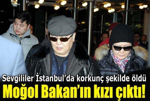 Moğolistan'lı sevgililer Boğaz'da boğuldu