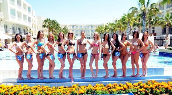 Moldovalı Güzeller Bodrum'da Yarıştı