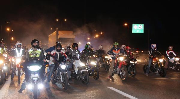 Motosikletçinin Cenazesi İstanbul'da