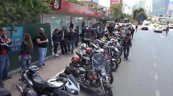 Motosikletli Gruptan Soma Protestosu
