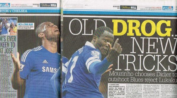 Mourinho, Drogba'yı Everton'a Kiraladığı Eski Chelsea'li Lukaku'ya Tercih Etti