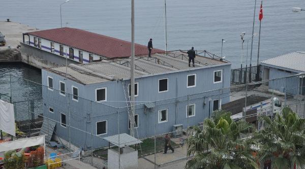 Mudanya'daki, Imrali Irtibat Binasi Yikiliyor (2)- Yeniden