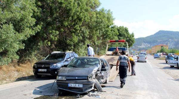 Mudurnu'da Kaza: 3 Yaralı