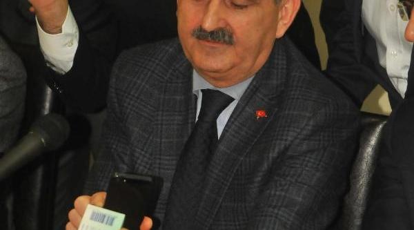 Müezzinoğlu: Cep Telefonu Ile Ilaç Takip Uygulamasi 24 Ocak'Ta Başliyor