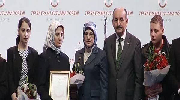 Müezzinoğlu Tıp Bayramı Kutlama Töreninde Konuştu