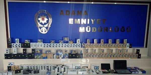 Muğla'da Çalinan Cep Telefonları Adana'da Ele Geçirildi