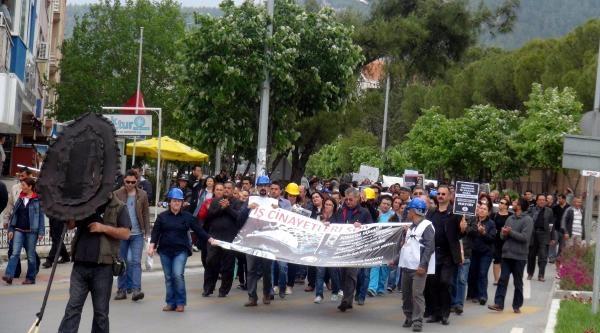 Muğla'da Soma Protestosu