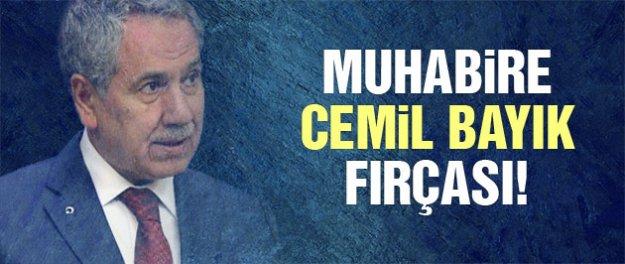 Muhabire Cemil Bayık fırçası!