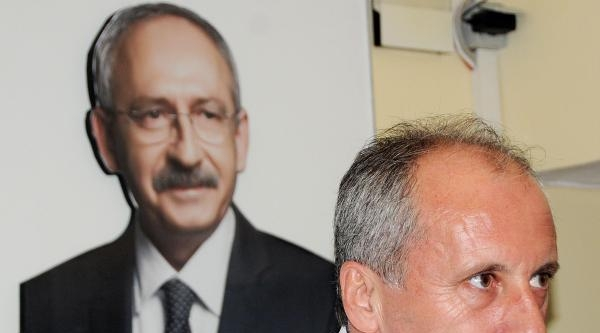 Muharrem İnce: Önce Davutoğlu'nu, Sonra Erdoğan'ı İndireceğim
