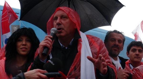 Muharrem İnce: Seçimi Ertelemek İçin Türkiye'yi Savaşa Sokacak