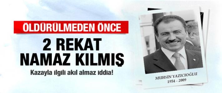 Muhsin Yazıcıoğlu Hakkında Bomba İddia!