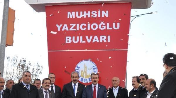 'muhsin Yazicioğlu Parki' Hizmete Açildi