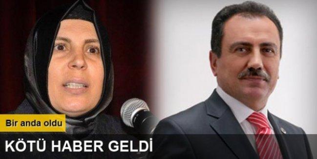 Muhsin Yazıcıoğlu'nun eşi hastaneye kaldırıldı!