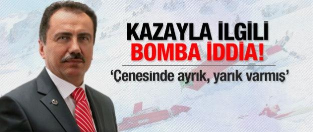 Muhsin Yazıcıoğlu'nun ölümünde bomba iddia!