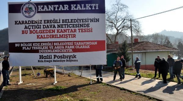 Mühürlü 'yol Kenari Denetim Istasyonu' Kaldirildi
