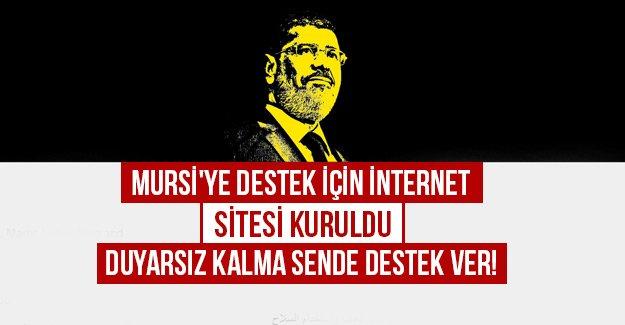 Mursi'ye destek için internet sitesi kuruldu