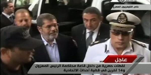 Mursi'Nin Yargilandiği Davanin Duruşmasi 8 Ocak'a Ertelendi