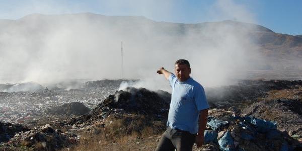 Muş Çöplüğü Köylüleri Bezdirdi
