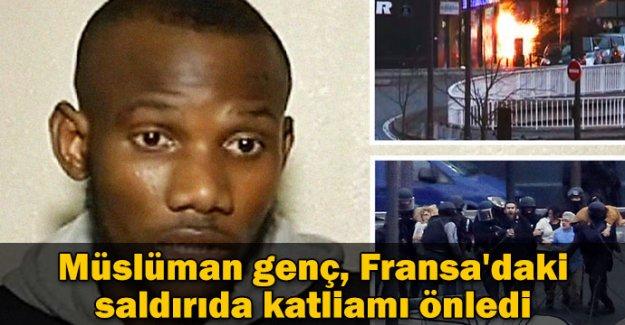 Müslüman genç, Fransa'daki saldırıda katliamı önledi