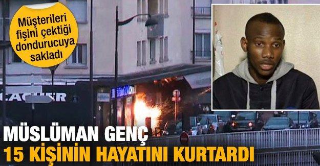 Müslüman genç Paris'te 15 kişinin ölmesini engelledi