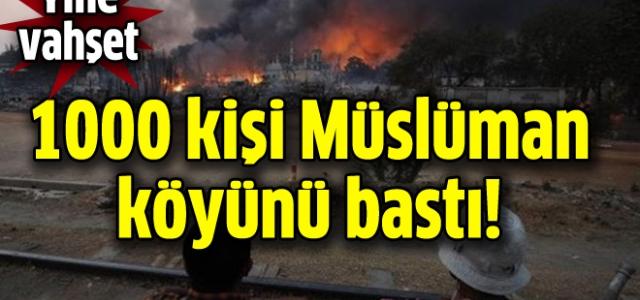Müslüman köyüne baskın