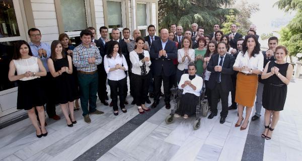 Mustafa Koç'un Da Aralarında Bulunduğu Ülkem İçin Gönüllüleri'nden 'engelliler İçin Birlikteyiz' Mesajı