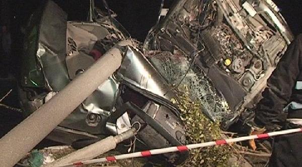 Mustafakemalpaşa'Da 2 Gencin Öldüğü Kazada Can Pazari Yaşandi