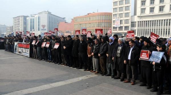 Mustafazlar'dan Uludere Olayina Protesto