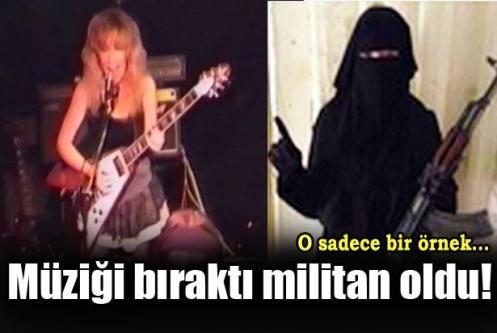 Müziği bıraktı IŞİD militanı oldu