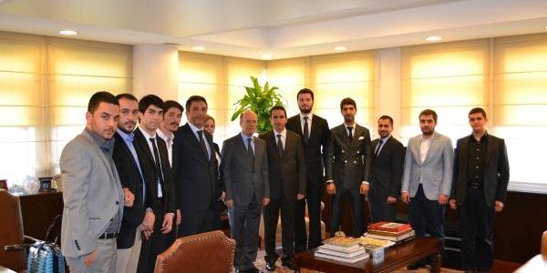 Naci Koru, Bilkent Akademi Üyelerini Makaminda Kabul Etti