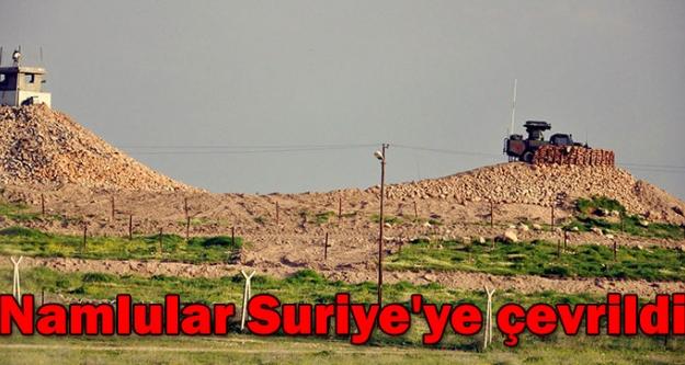 Namlular Suriye'ye çevrildi!