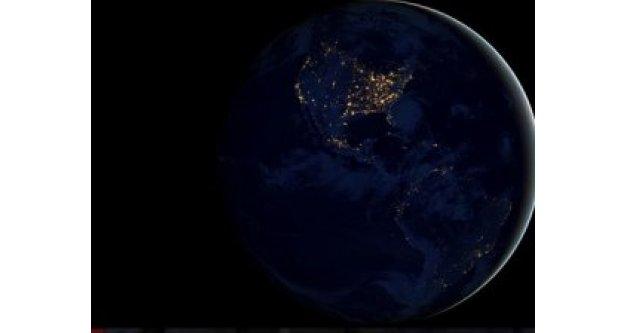 NASA: Dünya 3 Gün Karanlığa Gömülecek